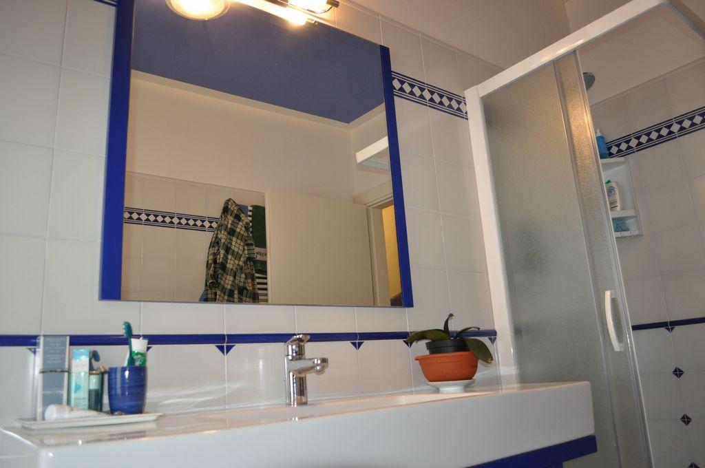 Bagno blu mobili arredamenti serramenti cucine su misura - Arredo bagno san bonifacio ...
